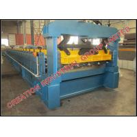 China Aluminium IT4 Roof Panel Roll Forming Machine Roof Tile Machine 220V / 380V on sale