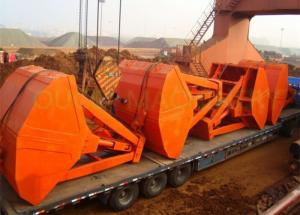 China Tailoer Made Radio Remote Control Grab , Steel Clamshell Grab Bucket For Barge on sale