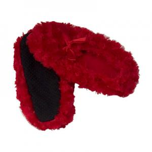 China Child Spandex Lovely Little Red Slipper Anti Slip Aloe Vera Infused Socks on sale