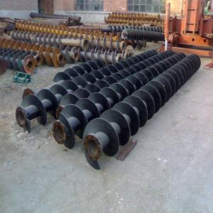 China Spiral drill pipes /twist drill rod for coal mining on sale