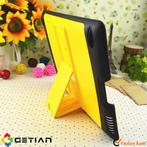 China Black Yellow iPad Protective Cases / Tablet PC Accessories for Girl on sale