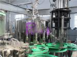 полноавтоматическая Non - машина завалки питья сока газа 4.2Kw для стеклянной бутылки