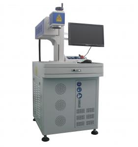 China Metal Tube RF Co2 Laser Marking Machine Galvo Marking Air Or Water Cooling on sale