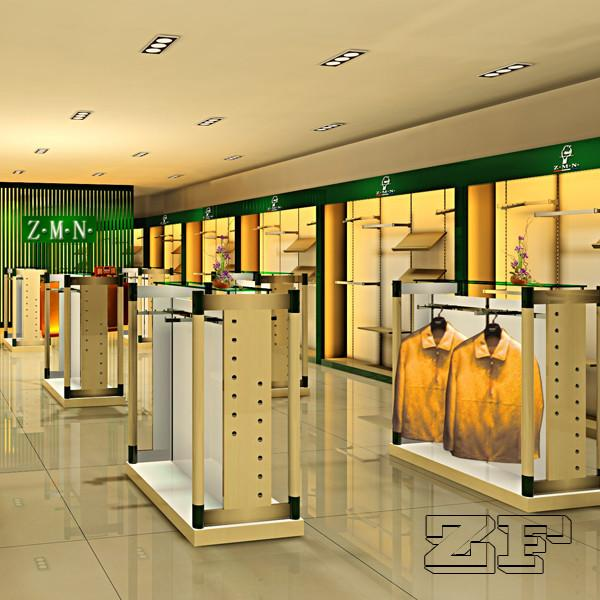 Clothes store interior design ideas for sale – Men Clothing display ...