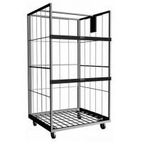 Vertical Roll Cage Containers With Powder Coating or Galvanizing Surface For Material Storage
