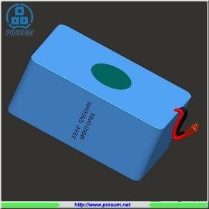China Li-ion battery pack 5P8S 29.6V 12500mAh 18650 battery pack on sale