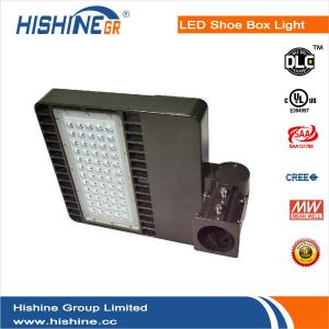 China Waterproof Led Shoebox Light 150 W Energy Efficient Cree Street Lights on sale