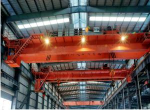 China Heavy Duty Industrial General Use Overhead Traveling double girder overhead crane on sale