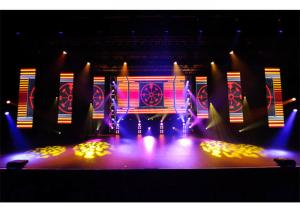 China HD P3.91 SMD2121 Indoor Rental LED Display with 500x1000mm panels for concerts on sale