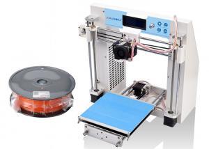 China Desk Top 3D Printer Machine , Metal White 3D Printer RepRap Prusa I3 on sale