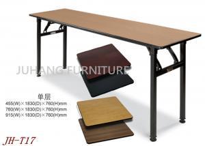 China Modern Banquet Hall Rectangular Folding Table on sale