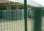 Pvc Coated Euro Holland Welded Wire Fence 1.83 Height X25m Length
