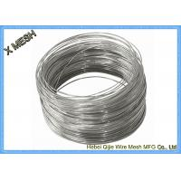 Hot Dipped Galvanized Galvanized Binding Wire , Mild Steel Wire 25 Kgs Coil