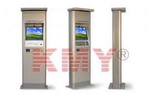 China 15'' Free Standing Outdoor Information Interactive Touch Kiosk with TFT LCD Touchscreen Monitor on sale