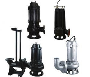 3 Phase Cast Iron Submersible Sewage Pump For Raw Rain Water