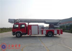 Six Seats Aerial Ladder Fire Truck New Generation Gross