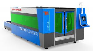 China Fiber Laser Industrial Laser Cutting Machine With Cutting Thickness Upto 10mm SS TY-3015 JB 3000W on sale