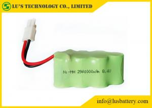 China 1.2V Nickel Metal Hydride Battery NIMH Battery Pack 8.4V 1000mah on sale