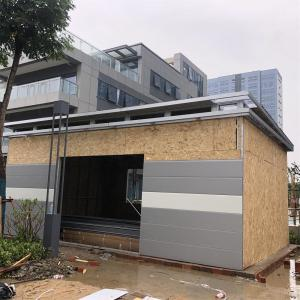 China Garage Parking Lot 10m2 Prefabricated Light Steel Framing House on sale