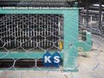 Chaîne de production hexagonale automatique de fabrication de fil machine résistante de maille de Gabion