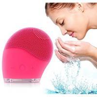 Skin Friendly Soft Ultrasonic Face Cleanser For Both Sensitive / Normal Skin