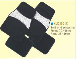 China KLD3001C,car mat ,auto mat ,carpet car floor mat ,car accessories on sale
