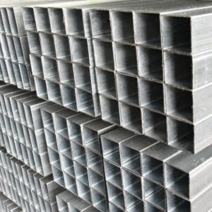 China China factory price Rectangular Pre Galvanized Steel Tube to Export Srilanka on sale