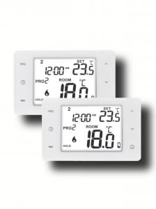 China Color LCD  Digital Touch Screen Programmable Thermostat For Electric Heating OEM on sale