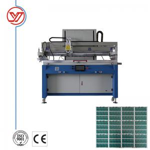 China Single Color Flatbed Screen Printing Machine 800pcs/h speed   for PCB / glass cover on sale