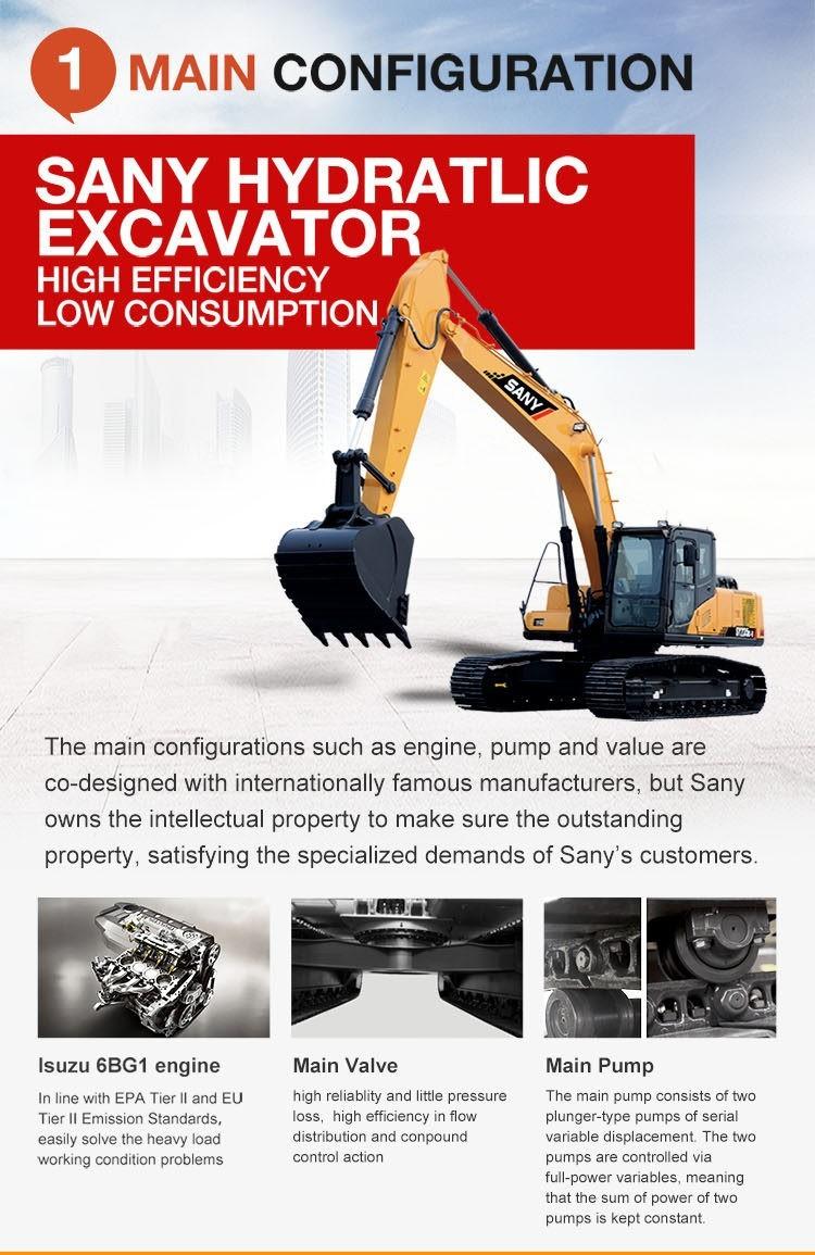 CRAWLER EXCAVATOR SY235C ,SY215Cprice www truckinchina com