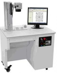 China Computer Controlled 3D Fiber Laser Marking Machine Fast Processing Speed on sale