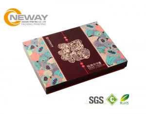 China Luxury Folding Paper Carton Packing Box Fashion OEM Design Color Printing on sale