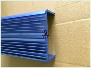 China 6063 T5 Structural Extruded Aluminum Shutter Fence Slats For Building Decoration on sale