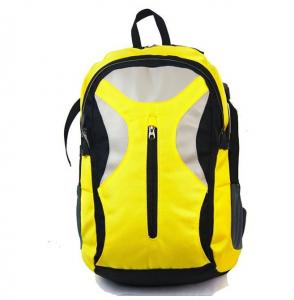 China Yellow Women'S Computer Backpack / Womens Laptop Backpacks For Hiking on sale