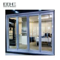 China Long Life Span Aluminium Folding Doors For Exterior Customized Extrusion Thickness on sale