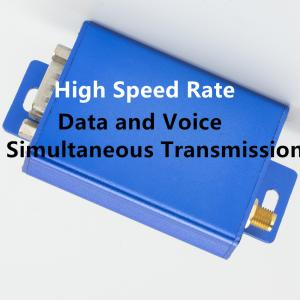 China 115200 2W digital audio transmitter&receiver VHF/UHF 150/230/433mhz digital audio modem wireless voice transmission on sale