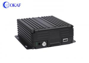 China AHD Car 4 Channel Car Dvr Recorder Kit HDD/SSD Storage 720P H.264 Video Compression on sale
