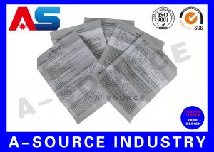 China Nandrolon 250mg Paper Insert Printing , Leaflet Printing Carton Medicine Box Instruction on sale