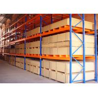 China Customized Adjustable Powder Coated Steel Warehouse Selective?Pallet?Rack on sale