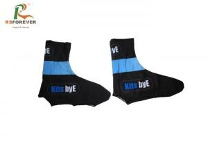 China Breathable Sport Printed Men Cycling Socks Polyester With Customized Logo on sale