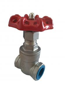 China CE / ISO Stainless Steel Gate Valve Female Thread For Water Gas Oil on sale