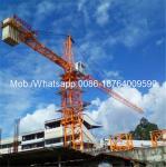 China Easy Transfer Heavy Construction Machinery , 6 Ton 0 - 80m Span Hydraulic Self - Raising Tower Crane Loader wholesale