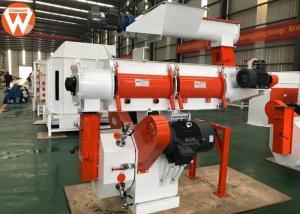 China 250mm Ring Die Animal Feed Pellet Machine With Siemens Motor And SKF Bearing on sale