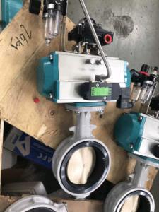 China rack and pinion pneumatic actuator aluminum on sale