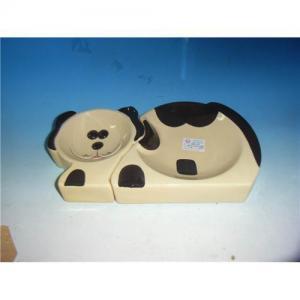 China Ceramic pet bowl on sale