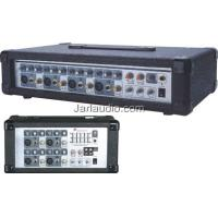 Cabinet DJ Power Mixer , Stereo Music PA Audio Mixer Console