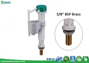 China ABS Pro Toilet Bottom Entry Fill Valve Easy To Adjust Working Water Level on sale
