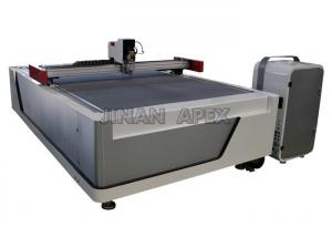 China High Speed Leather Cutting Equipment , Computer Controlled Leather Cnc Cutting Machine on sale