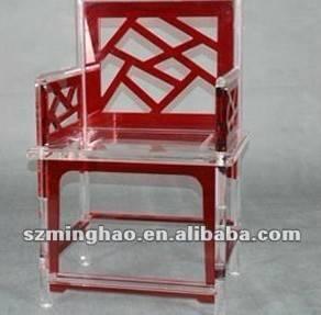 China modern acrylic crystal chair on sale