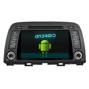 China Factory Wholesale In Dash Android Car DVD Player Special for 2014 Mazda 6 and CX-5 on sale